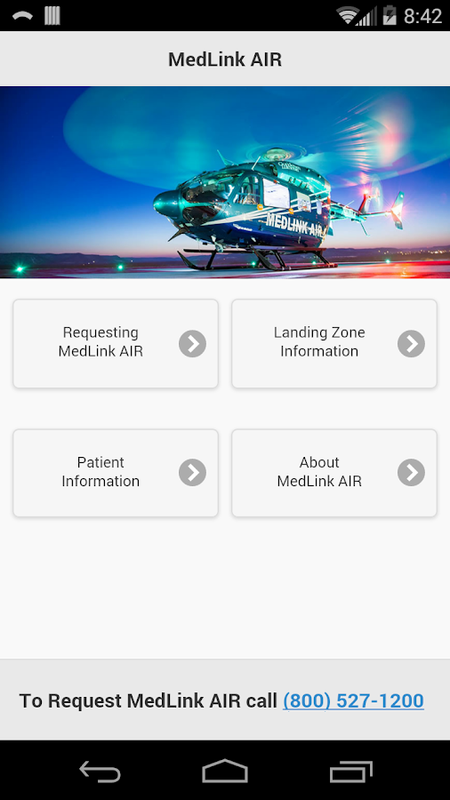 Gundersen MedLink AIR- screenshot
