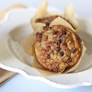 Banana Muffins with Chocolate Chip Streusel Topping Recipe