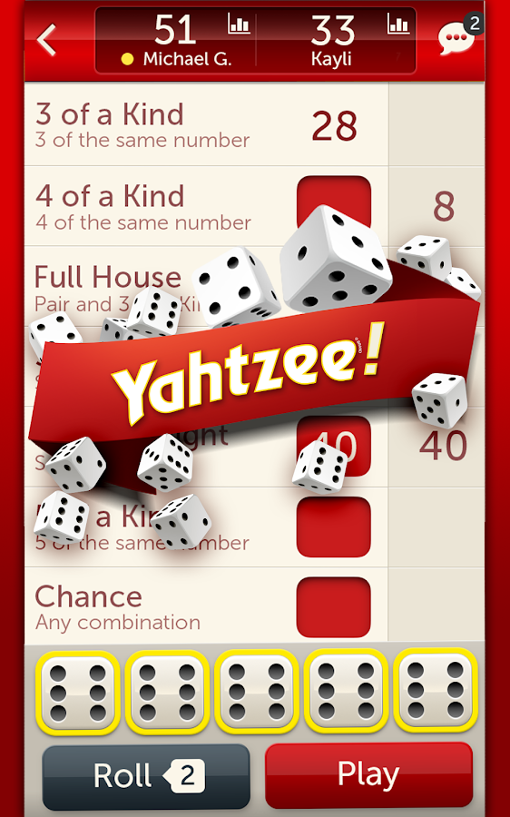 yahtzee with buddies a fun dice game for friends android apps on google play. Black Bedroom Furniture Sets. Home Design Ideas