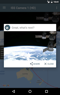 ISS Live - HD Earth viewing and NASA library Screenshot