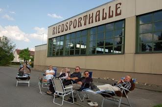 Photo: Ein toller Platz den uns die Stadt Bad Wurzach vor der Riedsporthalle genehmigt hat...
