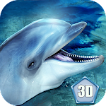 Ocean Dolphin Simulator 3D Icon