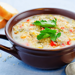How to Prepare Creamy Chicken and Quinoa Soup