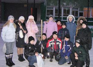 """Photo: Команда """"Цифровая карусель"""" школы № 44 Мурманска. """"Зимний стоп-кадр"""""""