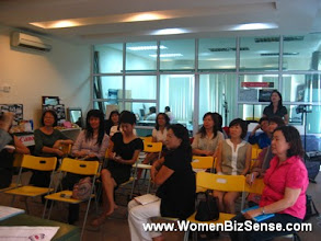 Photo: The early attendees at the talk.