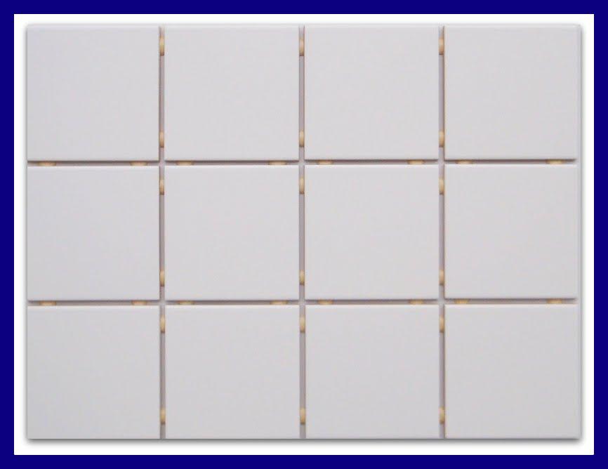 k chenfliesen auf netz normal wei matt 10x10 passend zu dekoren ebay. Black Bedroom Furniture Sets. Home Design Ideas
