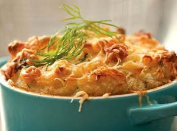 SLOW COOKER CHEESE SOUFFLE