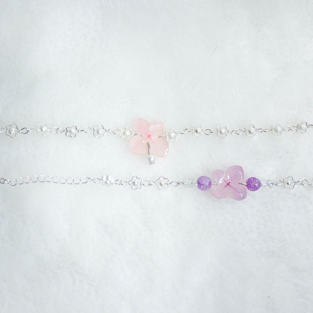 [現貨/stock] 尖沙咀寄賣中 繡球花手鏈 Hydrangea Bracelet