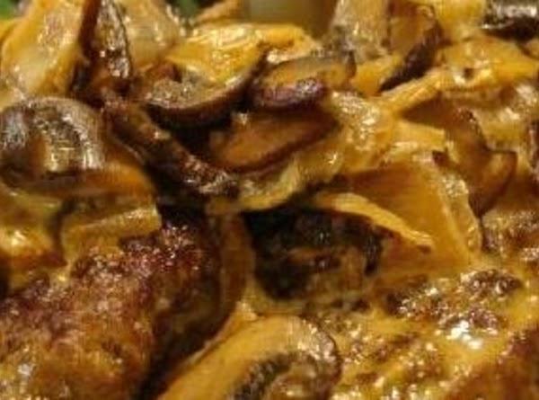 Fresh Mushroom Cream Sauce For Steak Recipe