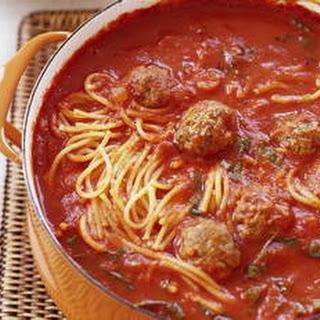 Spaghetti and Meatball Stoup.