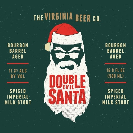 Logo of Virginia Beer Co. Double Evil Santa