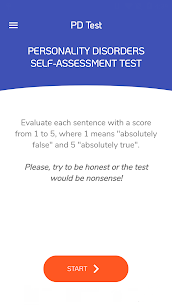 PD Test – Personality Disorders Test 4.2.1 Android APK Mod 1