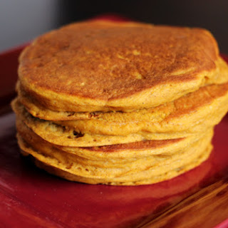 Bisquick Pumpkin Pancakes (Vegan).