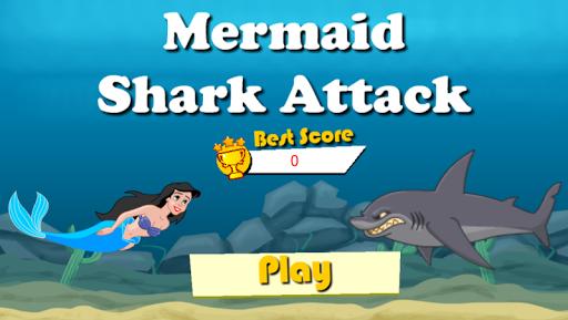 Mermaid vs Shark Attack