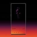 Animated KLWP theme WALKING icon