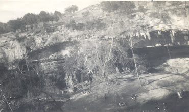 Photo: Hamilton Pool in Texas near UT -1950s