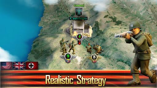 Frontline: Western Front - WW2 Strategy War Game screenshots 9