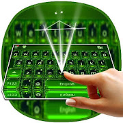 Green Theme Keyboard