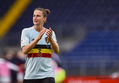 Deux ans après avoir quitté Anderlecht, Heleen Jaques est de retour en Belgique!