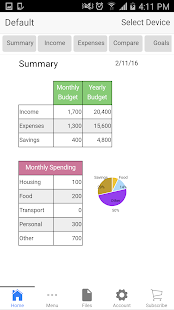 Home Budget- screenshot thumbnail