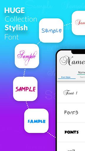 Name Art - Focus Filter - Name Card Maker 1.1.4 screenshots 3