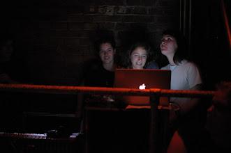 Photo: Unrecords Team watching / listening to Ex Best Friends