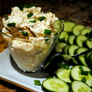 Easy Salmon and Cream Cheese Spread.