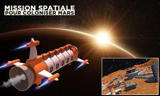 Espace Ville Construction Simulateur Planète Mars  captures d'écran 2