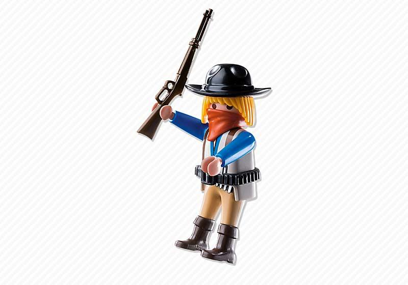 Contenido real de Playmobil® 6820 Bandido