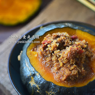 Steamed Beef and Buttercup Squash