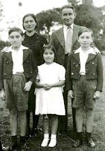 Photo: Maria,    , Pepin, Maribel y Lolo