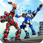 Robot Fight Street Brawl Real Robot Fighting Games