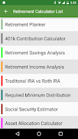 Screenshot of Financial Calculators