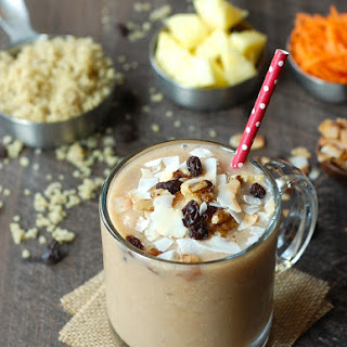 Morning Glory Smoothie with Quinoa