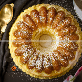 Pineapple Bundt Cake.
