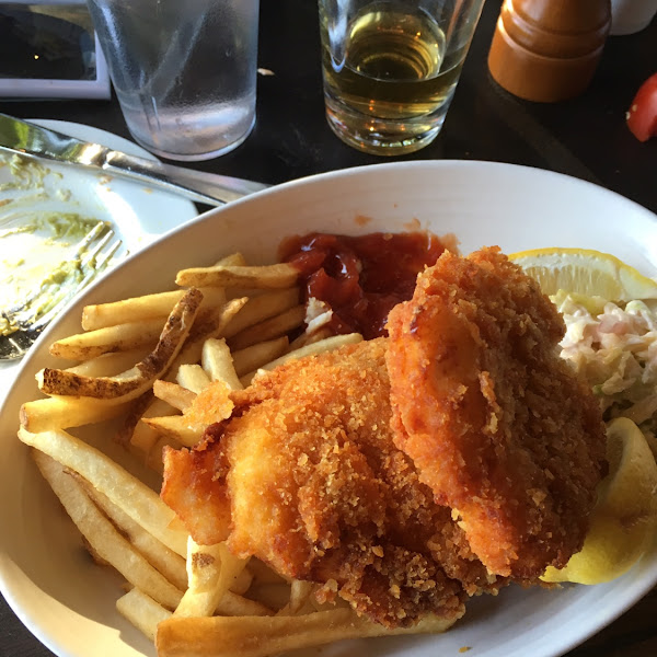 Gluten-free fish and chips!