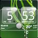 Sense Analog Glass Clock 4x2 APK