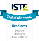 ISTE Seal of Alignment: Readiness. Student Standards June 2018-20