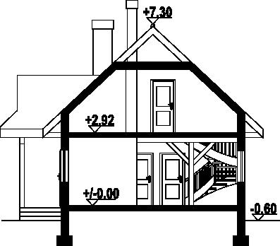 Zawoja dws1l - Przekrój