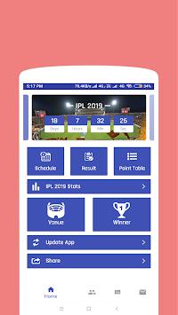 Télécharger VIVO IPL 2019 - Schedule, Player List, Point Table v2 0