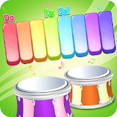Kids Piano and Drum Music Game