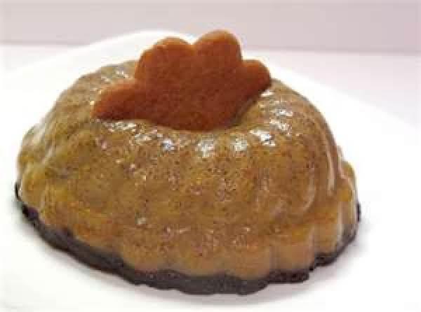 Almond-pumpkin Chiffon Pudding