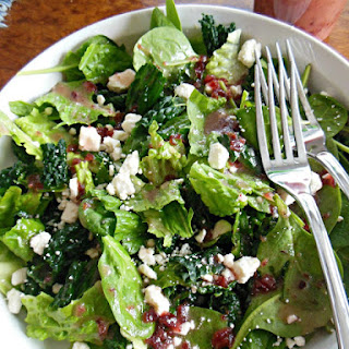 Tangy Cranberry with Thyme Vinaigrette.