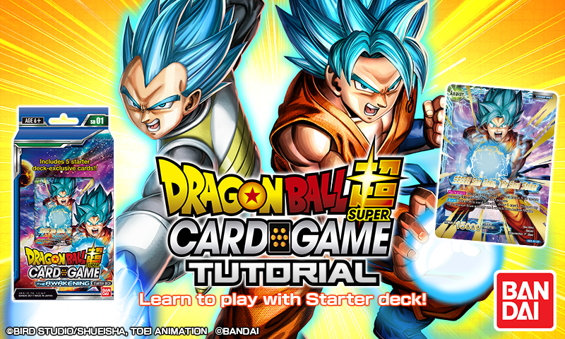 Dragon Ball Super Card Game Tutorial – скриншот