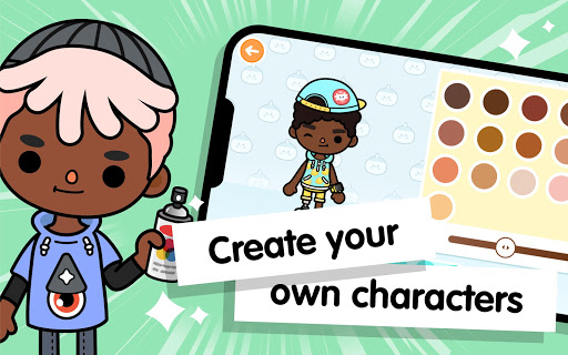 Toca Life World: Build stories & create your world 1.24.1 Screenshots 13