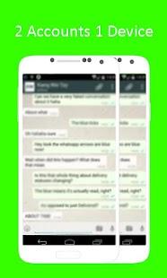 Dual Account WhatsApp Advice for PC-Windows 7,8,10 and Mac apk screenshot 2