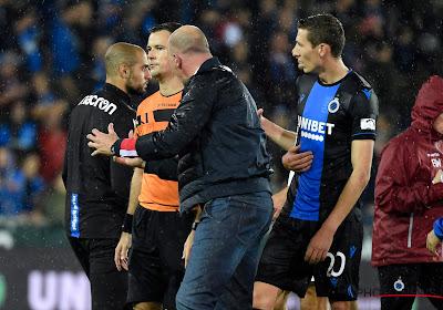 Le FC Bruges réagit à la proposition de suspension de Philippe Clement