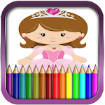 Princess Coloring Pages Icon