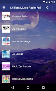 Chillout Radio Full - náhled