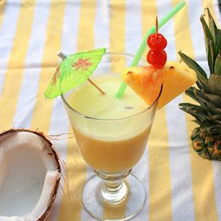 Fresh Coconut Pina Coladas – The Recipe ReDux
